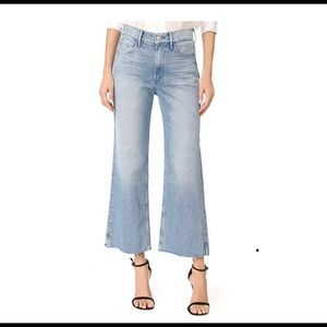 3x1 Shelter Wide Leg Cropped Jean